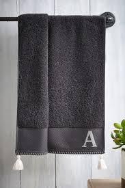 Купить <b>Полотенце для рук</b> с буквами на сайте Next: Россия