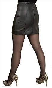 """Tout Ensemble <b>Leather Mini</b> Skirt (Length 14""""): Amazon.co.uk ..."""