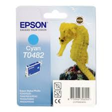 <b>Картридж EPSON</b> T0482 Cyan для R200/R300/RX500/RX600 ...