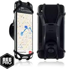 Bee Pro Universal <b>Silicone Bike Phone</b> Holder for any <b>Smartphone</b> ...