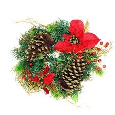Новогоднее декоративное <b>украшение</b> Венок рождественский ...