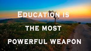 education is the most powerful weapon motivational video