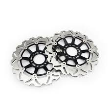 Front Brake Rotors Disc <b>For HYOSUNG GT250R GT650</b> GT650S ...