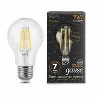 «Светодиодная <b>лампа GAUSS LED Filament</b> Graphene A60 E27 ...