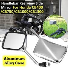 2PCs Left Right <b>Motorcycle</b> Handlebar Rearview Side Mirror For ...