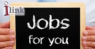 ilink business management we measure our success by your growth chalkboard sign about jobs for you