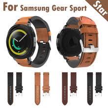 HIPERDEAL кожаный <b>ремешок для</b> Samsung Gear спортивный ...