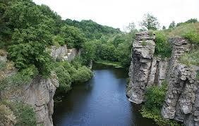 Картинки по запросу фото букский каньон черкасская обл