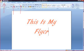 how to make flyers on a computer ehow how to make a flyer on microsoft word 2007