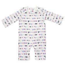 <b>Baby Girls Triangle</b> Print Coverall (0-3m) 311926335