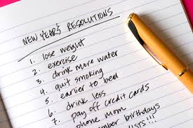 how to make new years resolutions that actually work new year s resolutions list of items