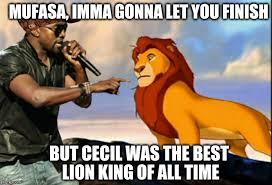 Kanye West Lion King Meme Generator - Imgflip via Relatably.com