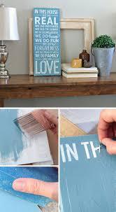 easy home decor idea:  wood sign tutorial diy home decor ideas on a budget click for tutorial