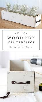 kitchen table sets bo: this rustic wood box centerpiece is perfect for displaying flowers and other decorative items on your table get the easy step by step tutorial for making