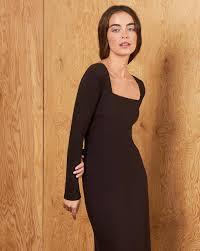 <b>Платье</b> с квадратным вырезом в интернет-магазине — <b>12Storeez</b>
