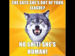 Courage Wolf | Know Your Meme via Relatably.com