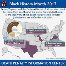 arbitrariness death penalty information center that more than 1 3 of federal death row came from texas virginia and the eastern district of missouri more than 90% of the death sentenced prisoners