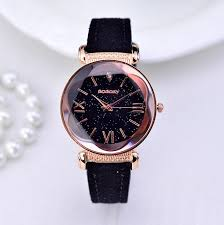 <b>New Fashion</b> Gogoey Brand Rose Gold Leather <b>Watches Women</b> ...