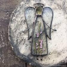 Купить или заказать Интерьерная <b>подвеска ангел</b> с природным ...