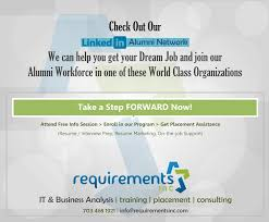 requirements inc software testing qtp quality center loadrunner join our successful alumni workforce