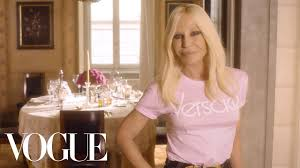 73 Questions With <b>Donatella Versace</b> | Vogue - YouTube