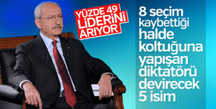 CHP'de Kılıçdaroğlu'nun koltuğuna aday isimler
