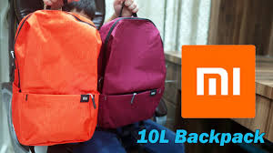 <b>Original Xiaomi</b> 10L <b>Backpack</b> Bag, Level 4 Water Repellent for ...