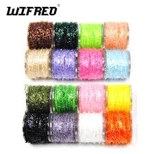 Wifero 1PC 12 Color Fly Tying Material Ice Chenille for Crappie and ...