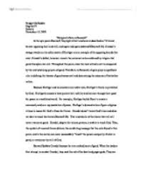 religion    s role in beowulf quot    university linguistics  classics and     quot religion    s role in beowulf quot