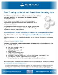 courses for job training for manufacturing job skills job career news from the