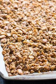 <b>Crunchy Grain Free</b> Granola with Strawberries {Paleo, Vegan} | The ...