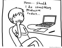 Should I Do Something Productive Today – Comic | WeKnowMemes via Relatably.com