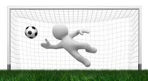 Image result for cartoon picture of goal posts