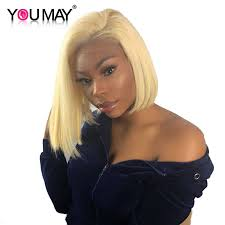 1B <b>613 Honey Blonde Lace</b> Front Wigs For Women With Baby Hair ...