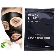 joycodes 3pcs set men carbon blackhead remover facial mask liquid black the nose shrink pore strips for