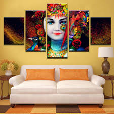 <b>HD</b> Printed <b>Pictures</b> For Living Room Canvas Modular Wall Art ...