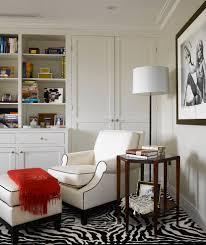 image of interior zebra carpet chic zebra print rug