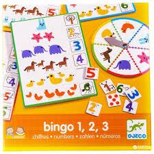 djeco обучающая игра бинго времена