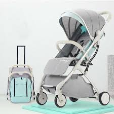 <b>SLD baby stroller baby can</b> sit reclining lightweight folding shock ...