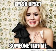 i'm so upset ... - bleh Meme Generator Captionator via Relatably.com