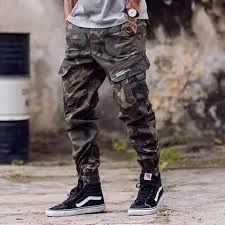<b>2019High Street</b> Fashion Men Jeans Army Jogger Pants ...
