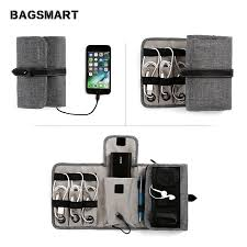 Travel <b>Cable Organizer</b> Accessories <b>Gadget</b> Bag Portable USB ...