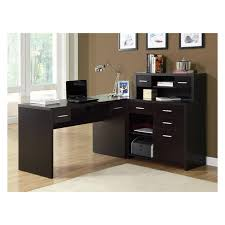 monarch reclaimed look l shaped home office desk desks at hayneedle cheap l shaped office desks