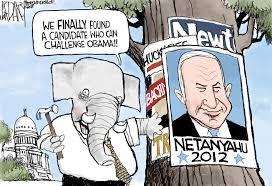 Image result for Netanyahu, CARTOON