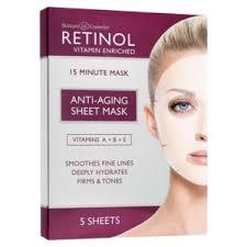 <b>Антивозрастная тканевая маска</b> для лица Retinol Anti-Aging ...