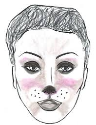 creating a mouse face how to create an face dance informa magazine middot minnie mouse makeup tutorial