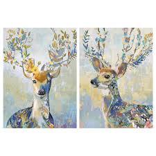 Купить <b>ПЬЕТТЕРИД Картина</b>, Разноцветный олень по выгодной ...