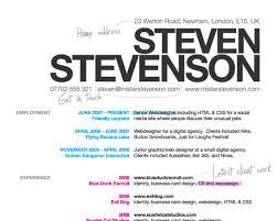 how to create a great web design cv and r̩sum̩  Рsmashing magazinescreenshot