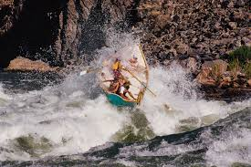 new perspective from edward abbey on the river high country news a dory runs hermit rapid in the grand canyon