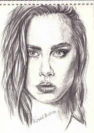<b>Портрет девушки</b> карандашом для срисовки (22 <b>фото</b> ...